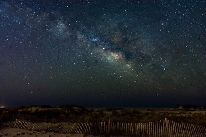 The Milky Way, off Folly Beach, South Carolina