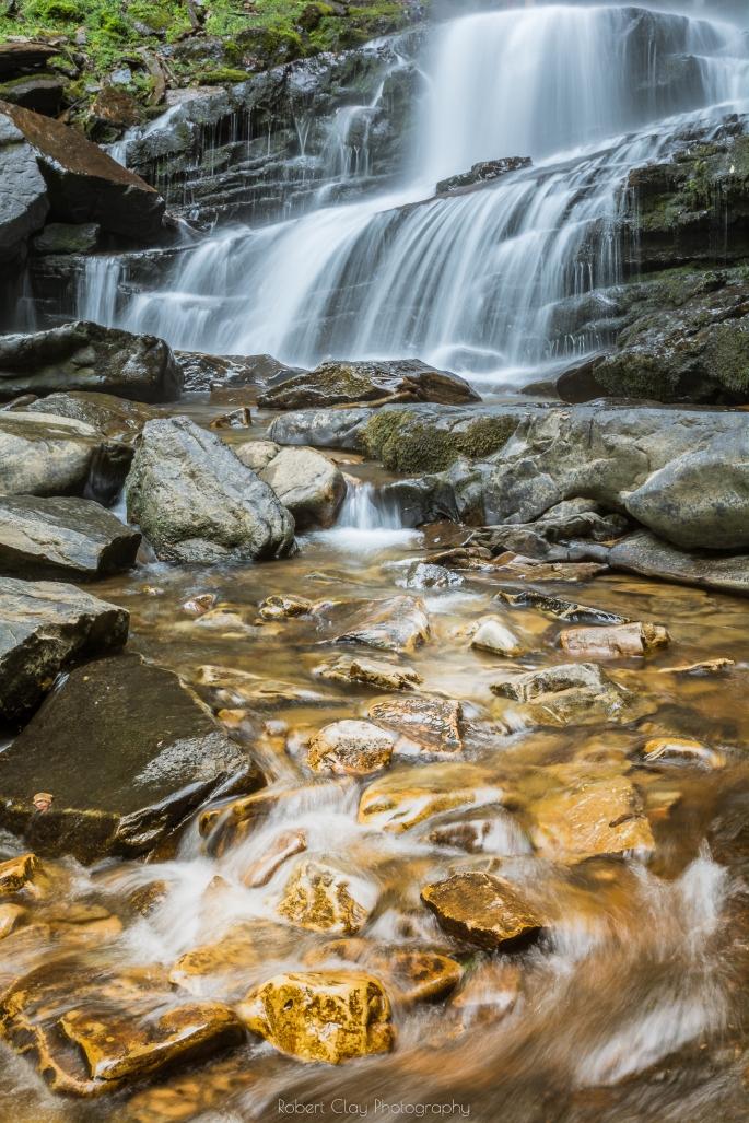 Hemlock Falls - Cloudland Canyon State Park. Copyright 2018 Robert Clay Photography.